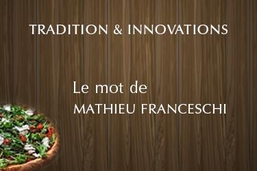 Le mot de Mathieu Franceschi (Franceschi Pizza)