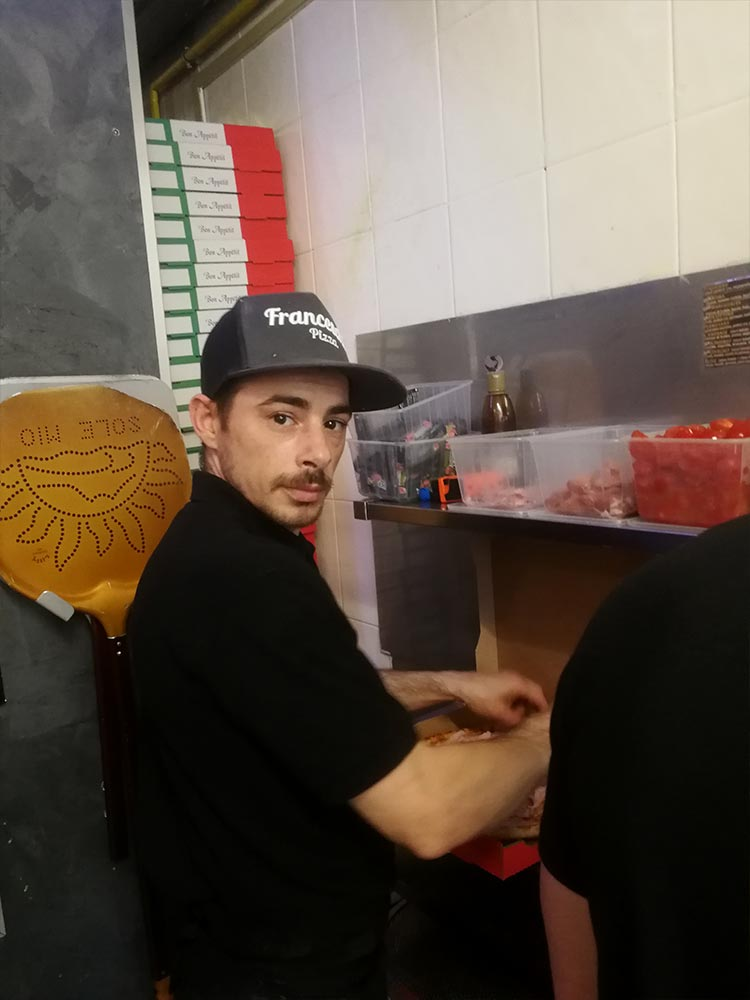 Présentation de l'équipe de Franceschi Pizza